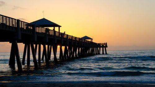 Juno Beach Florida pier