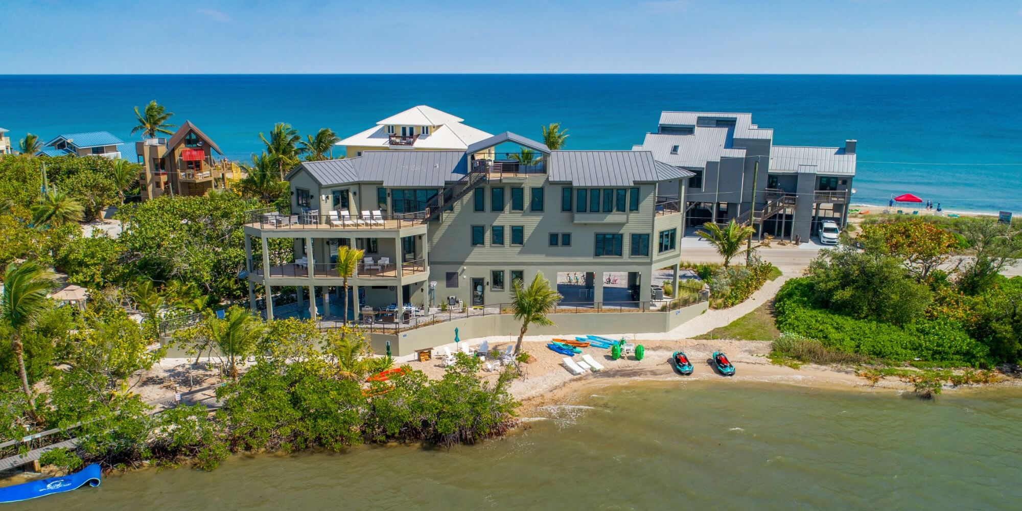 Hutchinson Island riverfront home